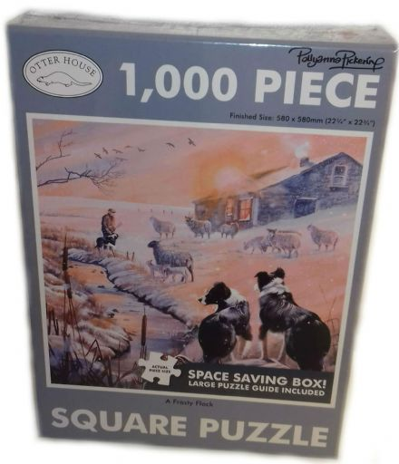 Frosty Flock Square 1000 Piece Jigsaw